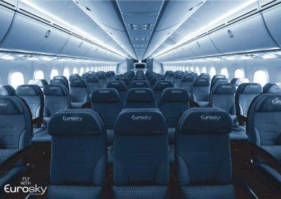 cabina vuelo charter