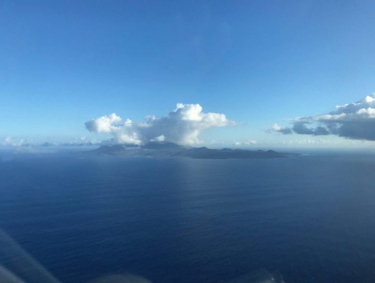 Approach Ascension Island