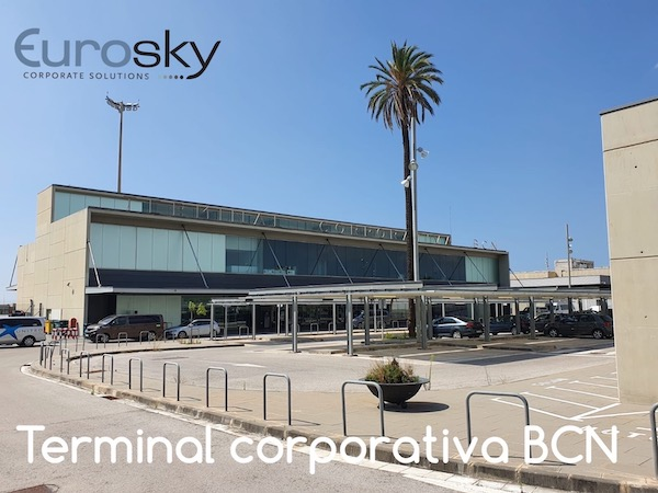 private jet to Barcelona with Eurosky