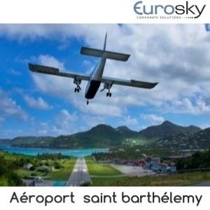 Saint Barthélemy en avion privé