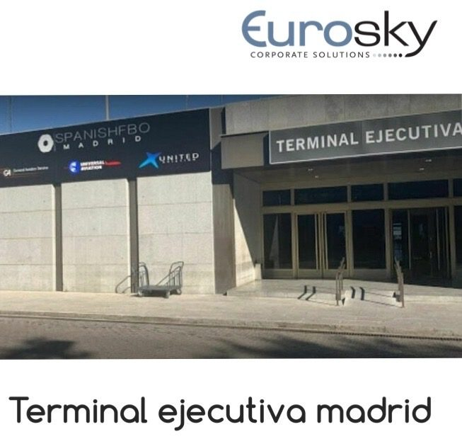 private jet terminal Madrid