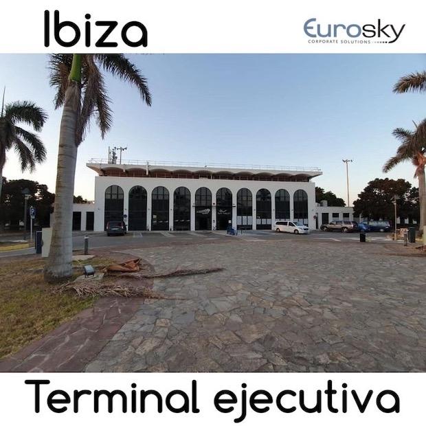 Terminal ejecutiva Ibiza - jet privado Ibiza