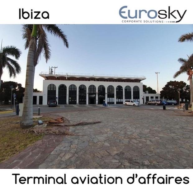 Jet privé Ibiza - Terminal d'affaires