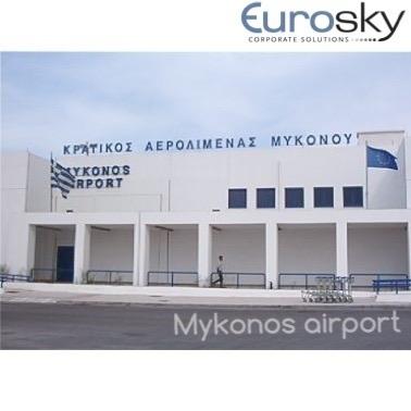 Volar en jet privado a Mykonos