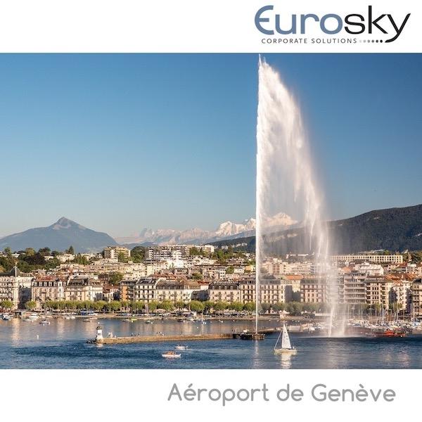 Voler en avion privé aéroport de Genève