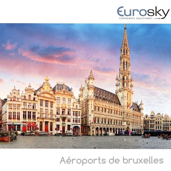 Voler en avion privé depuis Charleroi et Zaventem Eurosky
