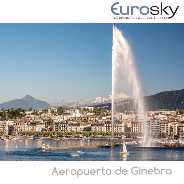 Volar en jet privado a Ginebra
