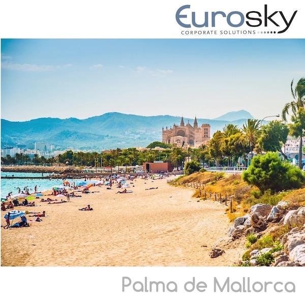 volar en avion privado a Palma de Mallorca