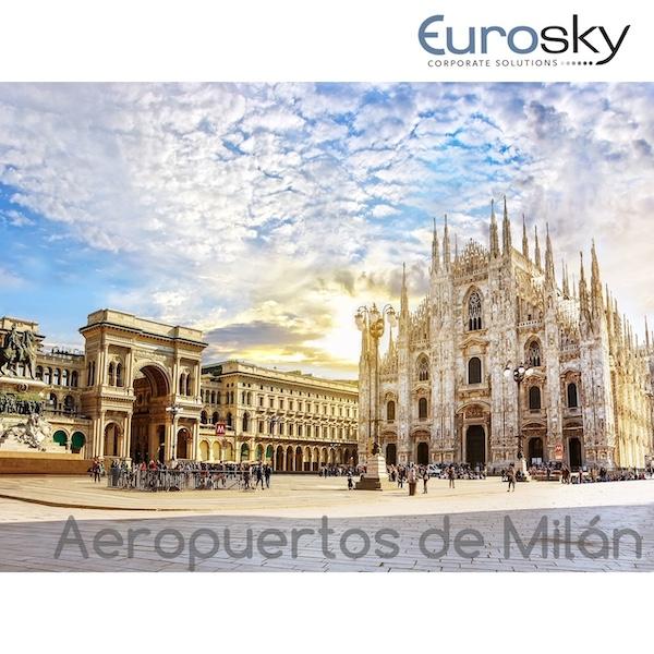 volar a Milán en jet privado