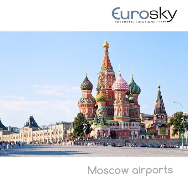 Private jet rental to Moscow