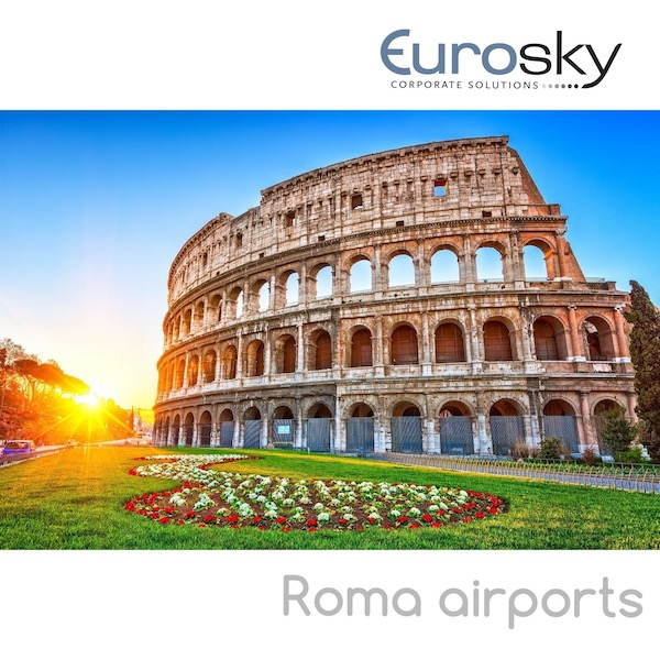 Private jet to Rome with Eurosky