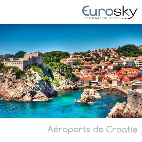 Croatie en jet privé