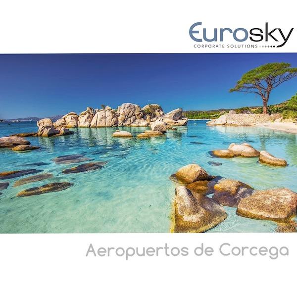 Volar en jet privado a Córcega