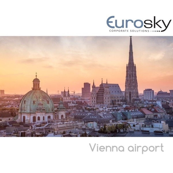 private jet flight to Vienna