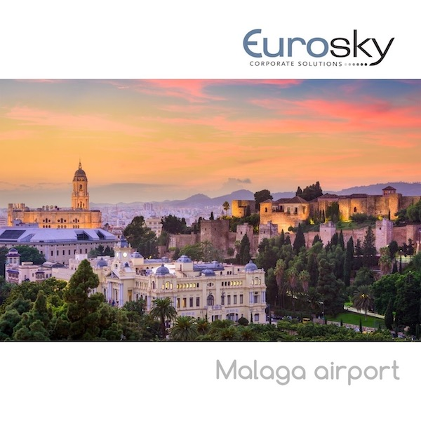 hire a private jet to Malaga airport