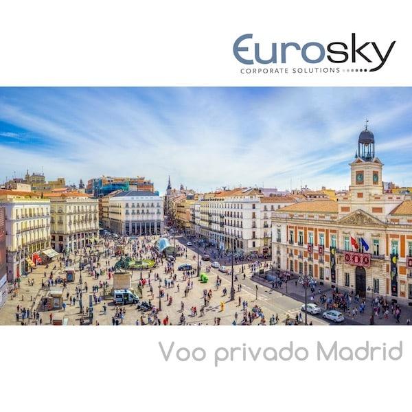 voo privado Madrid