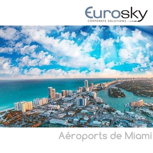 Miami en jet privé Eurosky