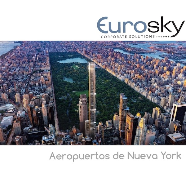 Nueva York en jet privado